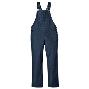 Dickies Womens Bib Overalls - Dark Indigo Black - FB206