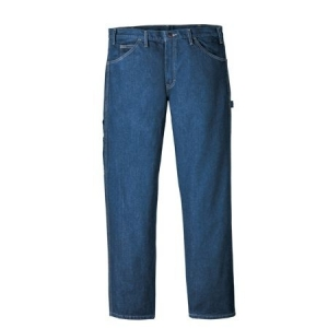 Dickies Industrial Prewashed Carpenter Jean - Rinsed Indigo Blue - LU200