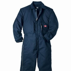 Dickies Mens Insulated Twill Coveralls - Dark Navy - TV261