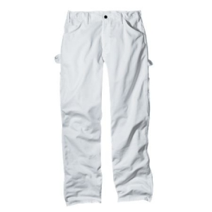 Dickies Mens Premium Painters Pants - white - WP820