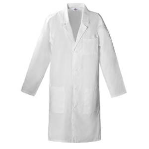 Dickies Unisex Unisex Lab Coat 40 inch - White - 83403