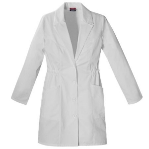 Dickies Womens Missy Lab Coat - White - 84402