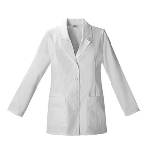 Dickies Womens Fashion Lab Coat 29 inch - White - 84406