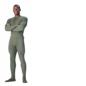 Rothco Mens Thermal Underwear Top - Olive Drab - 6440