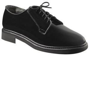 Rothco Black Hi-Gloss Lightweight Oxfords - 5055