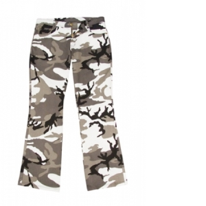 Rothco Womens City Camo Stretch Flare Pants - 3346
