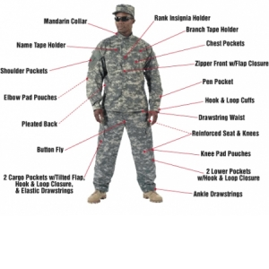 Rothco Digital Camo ACU Uniform Pants - 5755