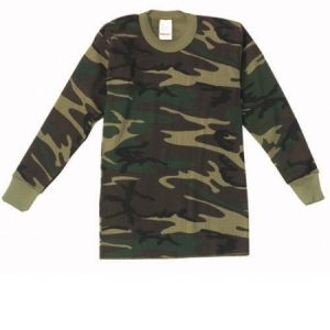 Rothco Boys Camo Thermal Underwear Top - 6292