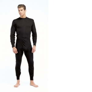 Rothco Mens Performance Polypropylene Thermal Top - Black - 6220