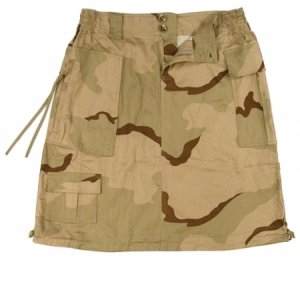 Rothco Womens Tri-color Camo Knee Length Skirt - 1011