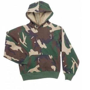 Rothco Kids Hooded Sweatshirt Camo - 6490