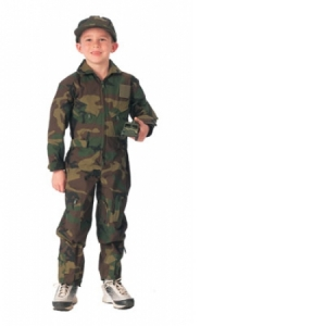 Rothco Boys Woodland Camo Coverall - 7308