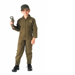 Rothco Jr. G.I. Kids OD Air Force Type Flightsuit - 7200