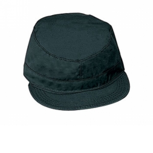 Rothco Rip-stop Black Fatigue Caps - 8340