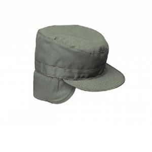 Rothco Olive Drab Combat Cap W/flaps - 5712
