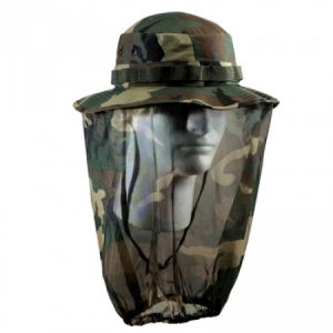 Rothco Camo Boonie Hat W/ Camo Mosquito Netting - 5833