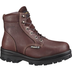 Wolverine Mens DuraShocks Electrical Hazard Steel Toe Waterproof 6 inch Boots - Brown - W03177