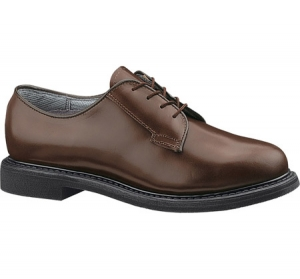 Bates Footwear Womens Lites Brown Leather Oxford - Brown - E00782