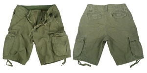 Rothco Vintage Olive Drab Infantry Utility Shorts - ROT-2544