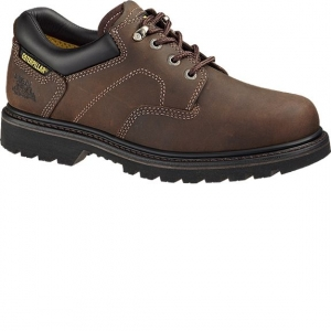 Cat Footwear Mens Ridgemont Steel Toe Shoe - Brown - P89702