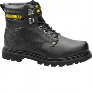 Cat Footwear Mens Second Shift Boots - Black - P70043