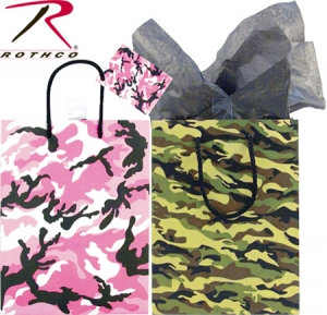 Rothco Camouflage Gift Bags-Medium - 9903