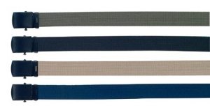 Rothco Military Color Web Belts with Black Buckle - 54 inch - 4296