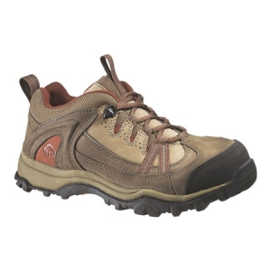Wolverine Womens Maggie Wolverine Steel Toe Lace-Up Oxford - Brown - W02220