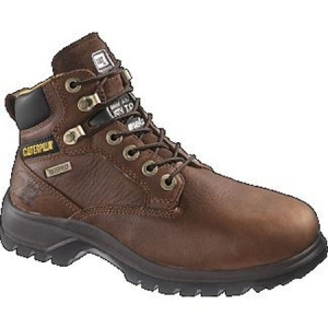 Cat Footwear Womens Kitson Waterproof Steel Toe Boots - Tan - P90042