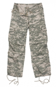Rothco Womens Army Digital Camo Vintage Paratrooper Fatigues - 3396