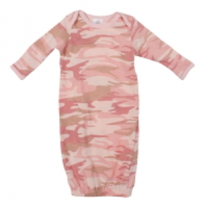 Rothco Infant Baby Pink Camo One-Piece Sleeper - 67159