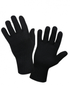 Rothco Black Wool Glove Liner - 8518