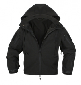 Rothco Black Special Ops So Shell Jacket - 9767