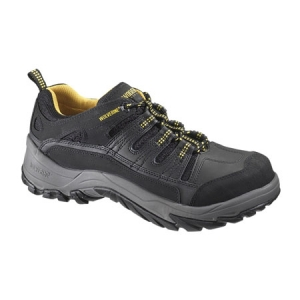 Wolverine Mens Dayton Lace-Up Composite Toe Oxford - Black - W10071