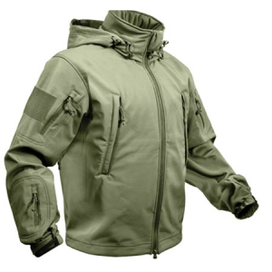 Rothco Olive Drab Special Ops Tactical Soft Shell Jacket - 9745