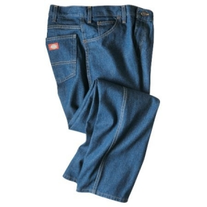 Dickies Mens Relaxed Fit Jeans - Rinsed Indigo Blue - CR393