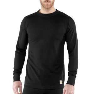Carhartt Base Force Cold Weather Crew Neck Top - Black - 100646