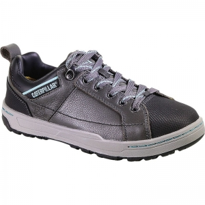 Cat Footwear Mens Brode Steel Toe Oxford - Grey - P90266