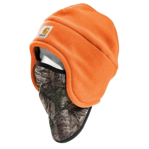 Carhartt Mens Fleece 2 in 1 Headwear - A202