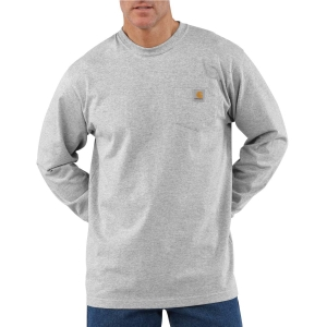 Carhartt Mens Workwear Pocket Long-Sleeve T-Shirt - K126